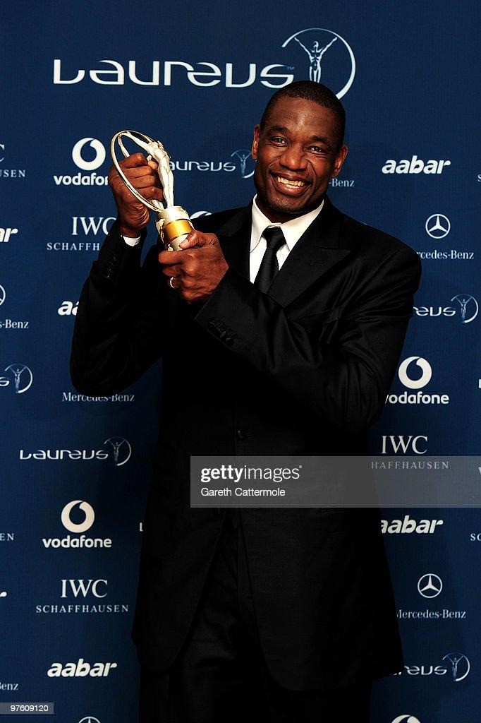 Awards Room-Laureus World Sports Awards Abu Dhabi 2010