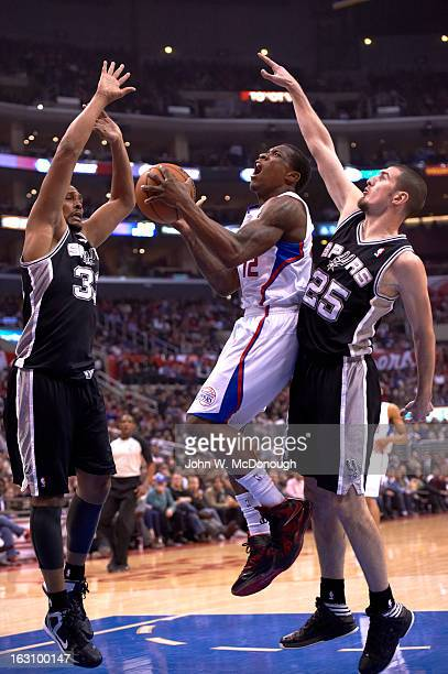 Los Angeles Clippers Eric Bledsoe in action vs San Antonio Spurs at Staples Center. Los Angeles, CA 2/21/2013 CREDIT: John W. McDonough