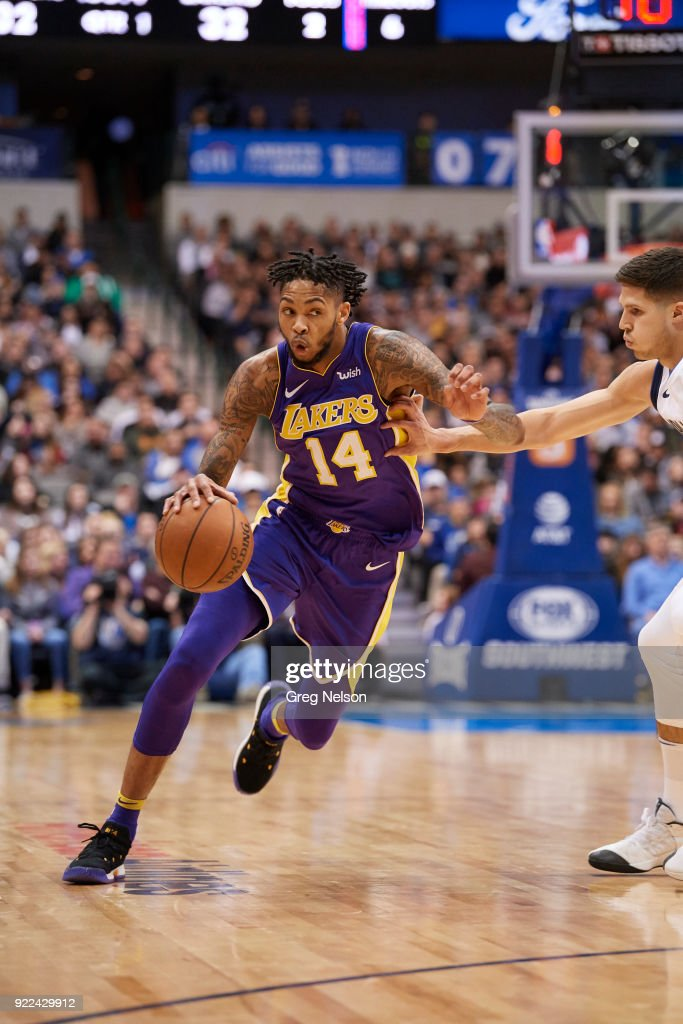 Dallas Mavericks vs Los Angeles Lakers : Fotografía de noticias