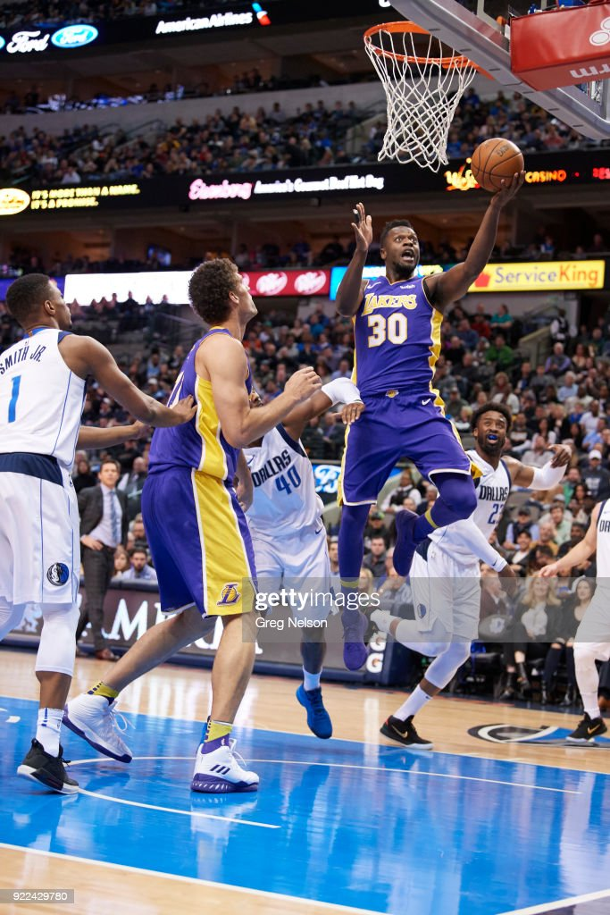 Los Angeles Lakers Julius Randle (30) in action vs Dallas Mavericks at American Airlines Center. Greg Nelson TK1 )