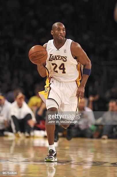 Los Angeles Lakers Kobe Bryant in action vs Cleveland Cavaliers. Los Angeles, CA CREDIT: John W. McDonough