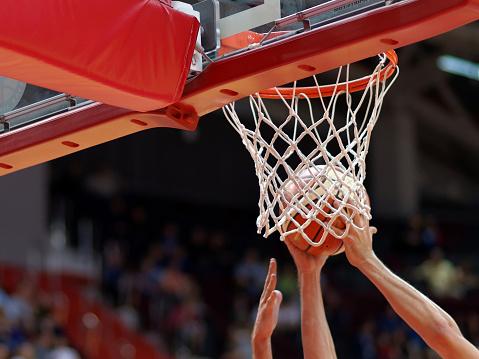 Basketball match 840279308