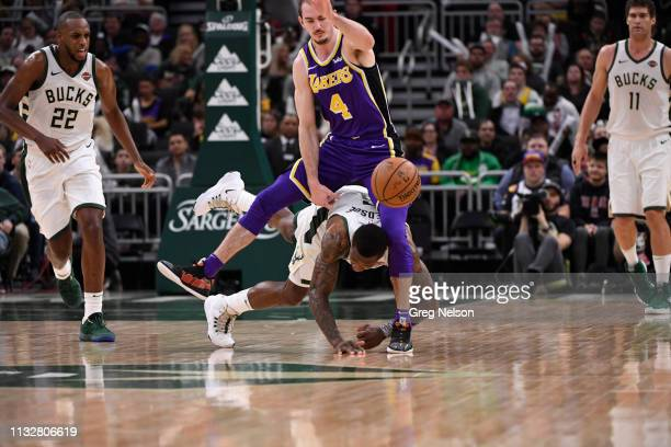 Milwaukee Bucks Eric Bledsoe in action vs Los Angeles Lakers at Fiserv Forum. Milwaukee, WI 3/19/2019 CREDIT: Greg Nelson
