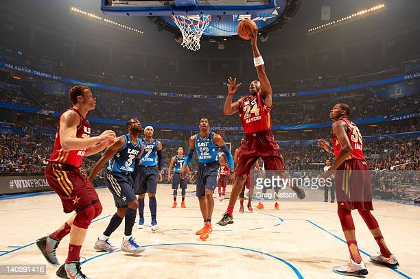 NBA AllStar Game West Kobe Bryant in action vs East at Amway Center Orlando FL CREDIT Greg Nelson