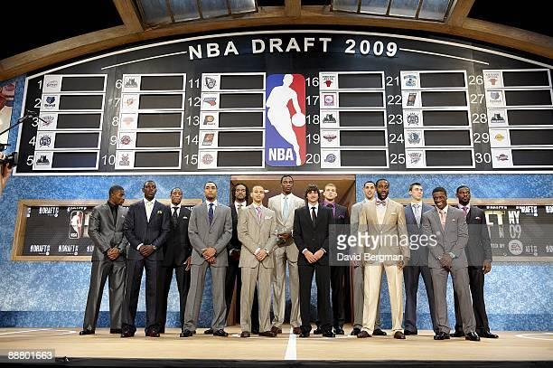 NBA Draft Terrence Williams Jrue Holiday DeMar DeRozan Gerald Henderson Jordan Hill Stephen Curry Hasheem Thabeet Ricky Rubio Blake Griffin Austin...