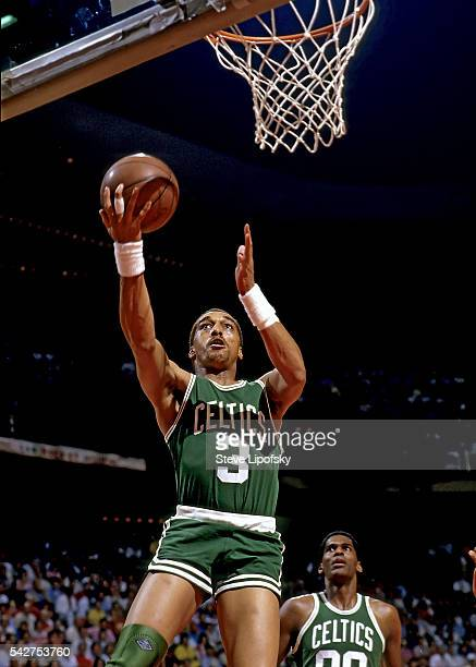 NBA Finals Boston Celtics Dennis Johnson in action vs Los Angeles Lakers at The Forum Inglewood CA CREDIT Steve Lipofsky