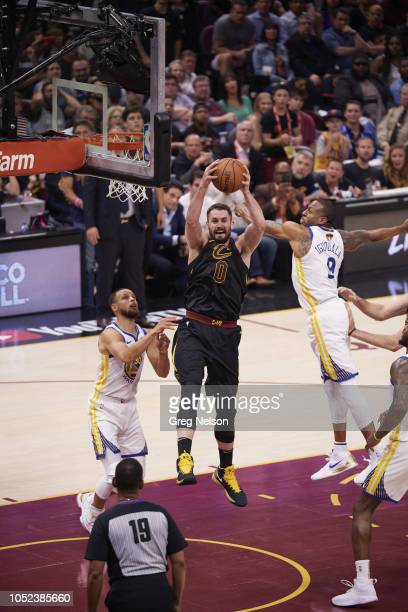 NBA Finals Cleveland Cavaliers Kevin Love in action rebound vs Golden State Warriors at Quicken Loans Arena Game 4 Cleveland OH CREDIT Greg Nelson