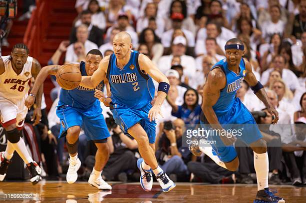 NBA Finals Dallas Mavericks Jason Kidd in action vs Miami Heat at American Airlines Arena Game 6 Miami FL CREDIT Greg Nelson