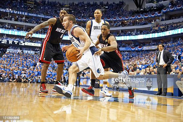 NBA Finals Dallas Mavericks Jose Barea in action vs Miami Heat at American Airlines Center Game 5 Dallas TX CREDIT Greg Nelson