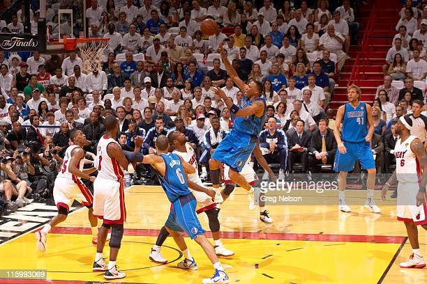 NBA Finals Dallas Mavericks Shawn Marion in action vs Miami Heat at American Airlines Arena Game 6 Miami FL CREDIT Greg Nelson