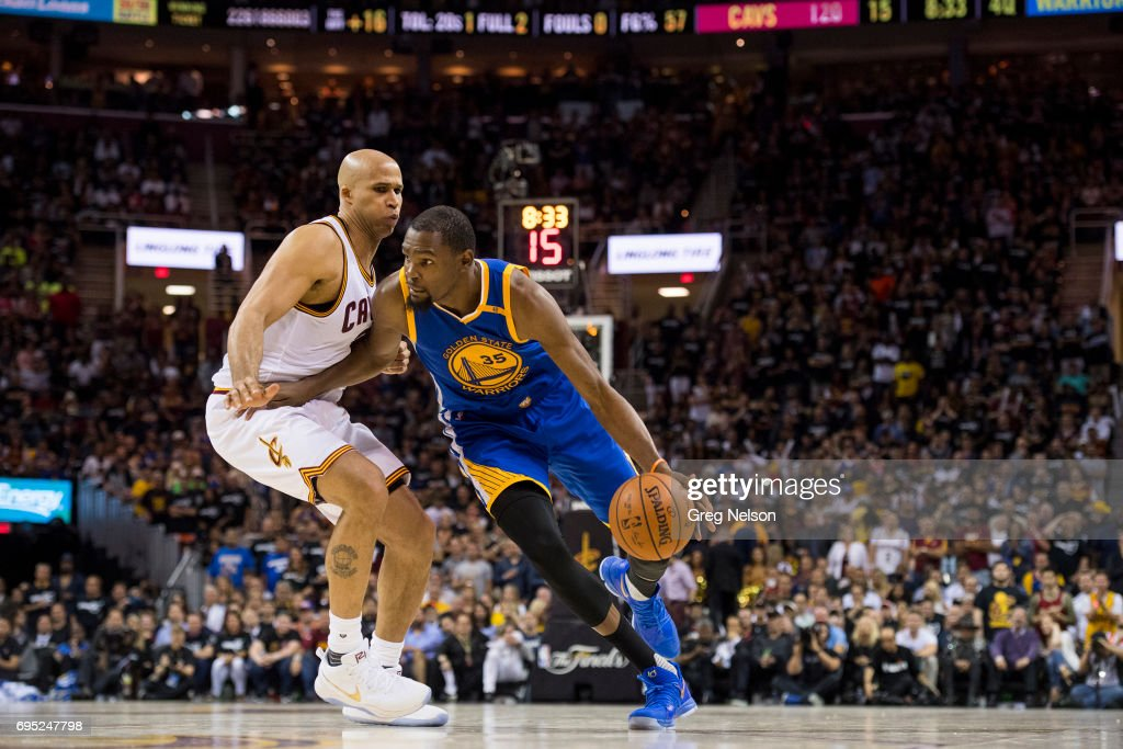 03314a177fc Golden State Warriors Kevin Durant in action vs Cleveland Cavaliers ...