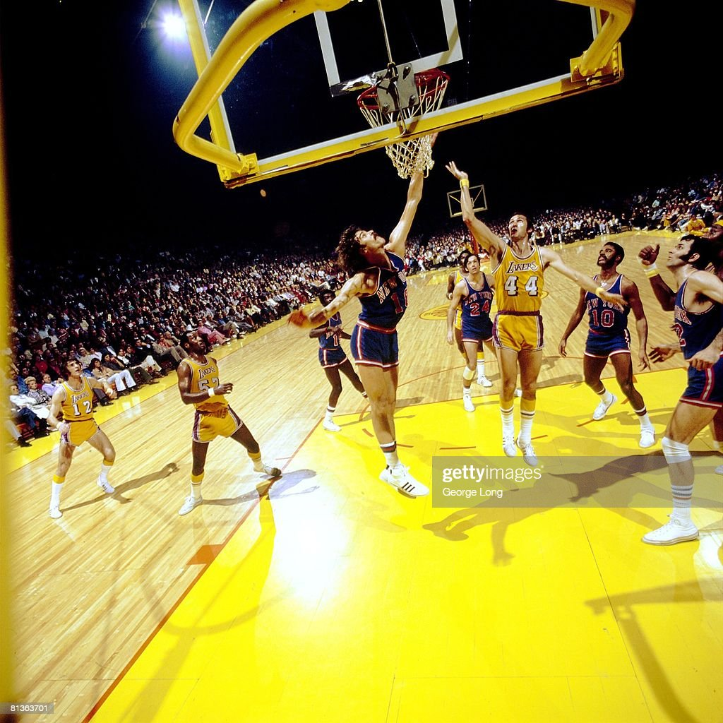 NBA Finals, Los Angeles Lakers Jerry West In Action