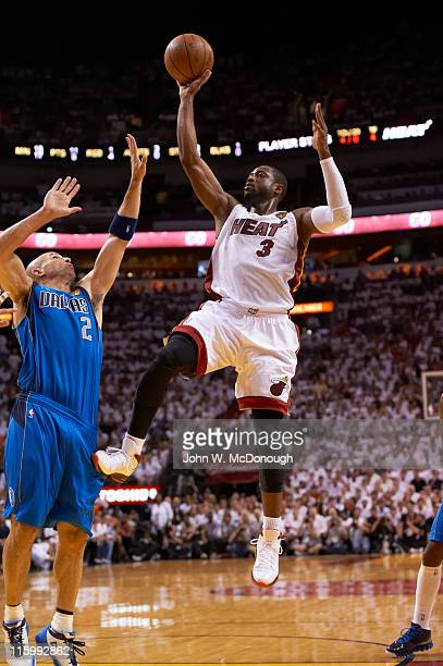 NBA Finals Miami Heat Dwyane Wade in action vs Dallas Mavericks at American Airlines Arena Game 6 Miami FL CREDIT John W McDonough