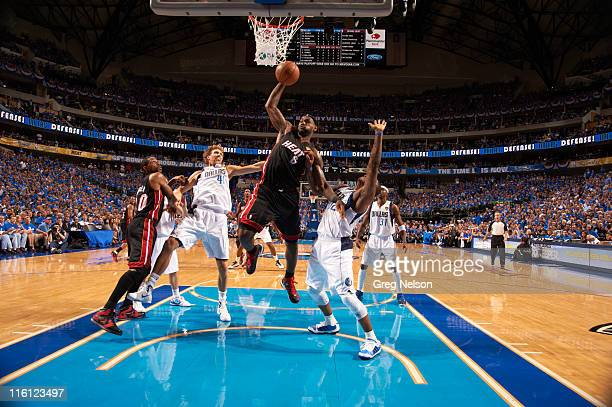 NBA Finals Miami Heat LeBron James in action vs Dallas Mavericks at American Airlines Center Game 5 Dallas TX CREDIT Greg Nelson