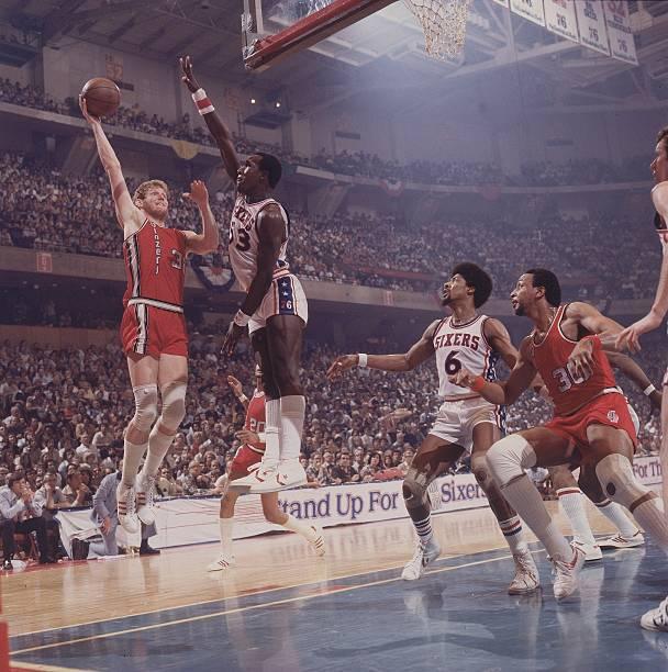 Portland Trail Blazers Bill Walton, 1977 NBA Finals