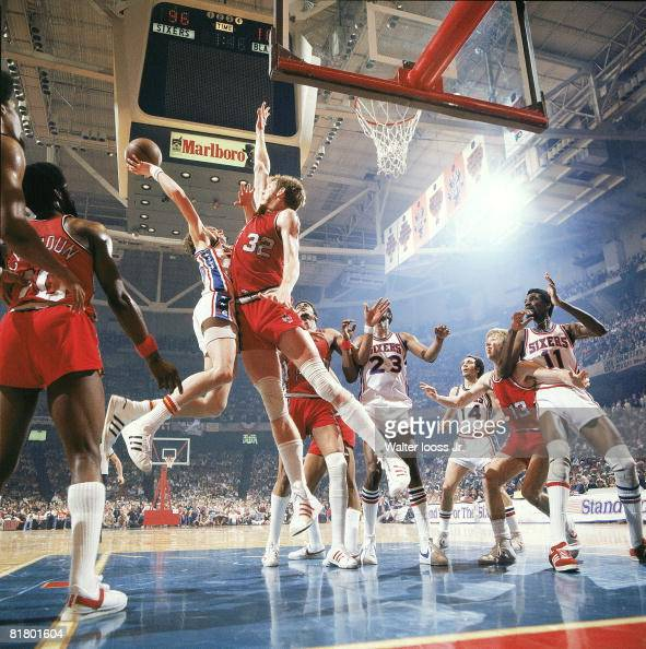 Portland Trail Blazers Playoff Years: NBA Finals, Portland Trail Blazers Bill Walton In Action