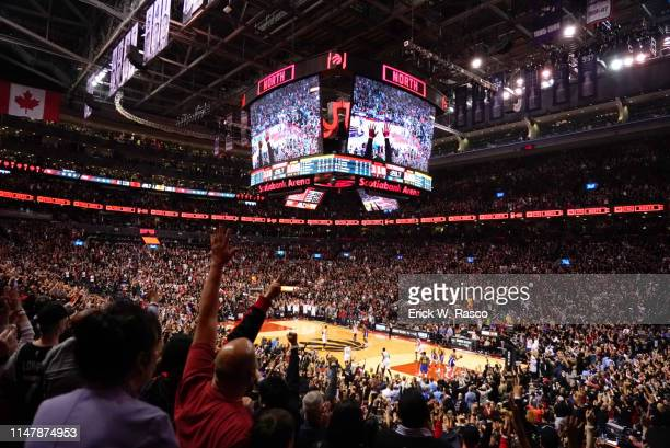 NBA Finals View of Scotia Bank Arena during during Toronto Raptors vs Golden State Warriors game Game 1 Toronto Canada 5/30/2019 CREDIT Erick W Rasco