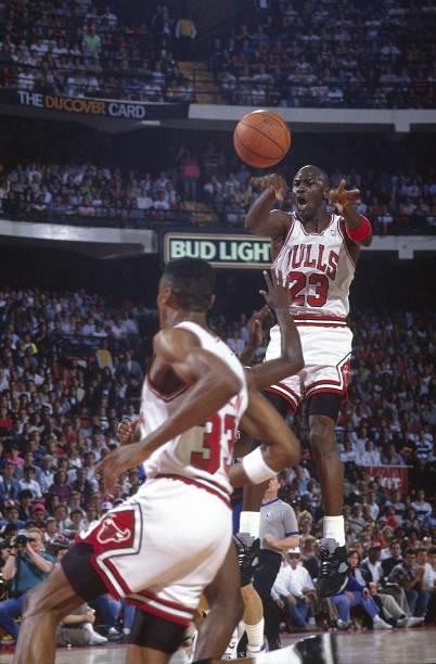 Chicago Bulls Michael Jordan, 1990 NBA Eastern Conference ...