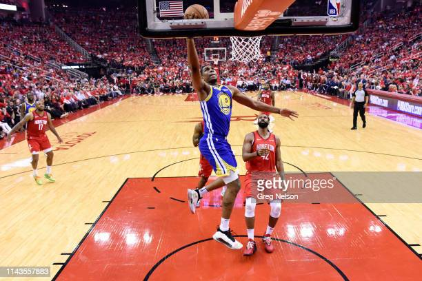 NBA Playoffs Golden State Warriors Kevon Looney in action vs Houston Rockets at Toyota Center Game 6 Houston TX CREDIT Greg Nelson