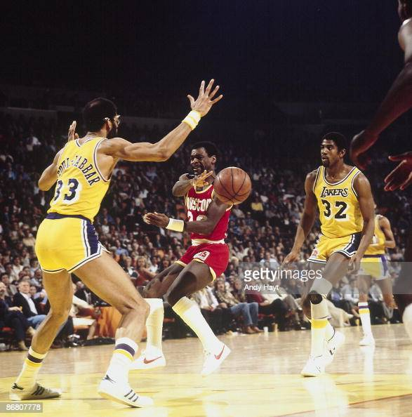 Houston Rockets Western Conference Finals: Houston Rockets Calvin Murphy In Action, Pass Vs Los