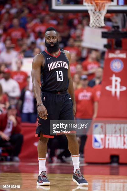 NBA Playoffs Houston Rockets James Harden during game vs Golden State Warriors at Toyota Center Game 7 Houston TX CREDIT Greg Nelson