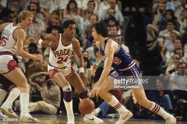 NBA Playoffs Kansas City Kings Scott Wedman in action vs Phoenix Suns  Phoenix AZ 4  de8c1bda6