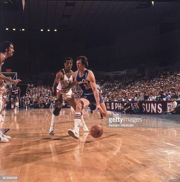 NBA Playoffs Kansas City Kings Scott Wedman in action vs Phoenix Suns Game  2 Phoenix AZ a4c0e0c5f