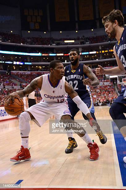 Playoffs: Los Angeles Clippers Eric Bledsoe in action vs Memphis Grizzlies at Staples Center. Game 3. Los Angeles, CA 5/5/2012 CREDIT: John W....