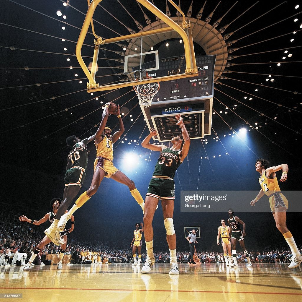 NBA Playoffs, Los Angeles Lakers Wilt Chamberlain In