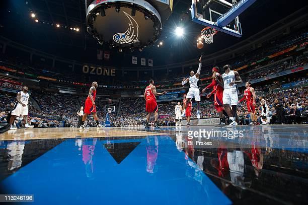 NBA Playoffs Orlando Magic Dwight Howard in action vs Atlanta Hawks at Amway Center Game 2Orlando FL 4/19/2011CREDIT Bill Frakes