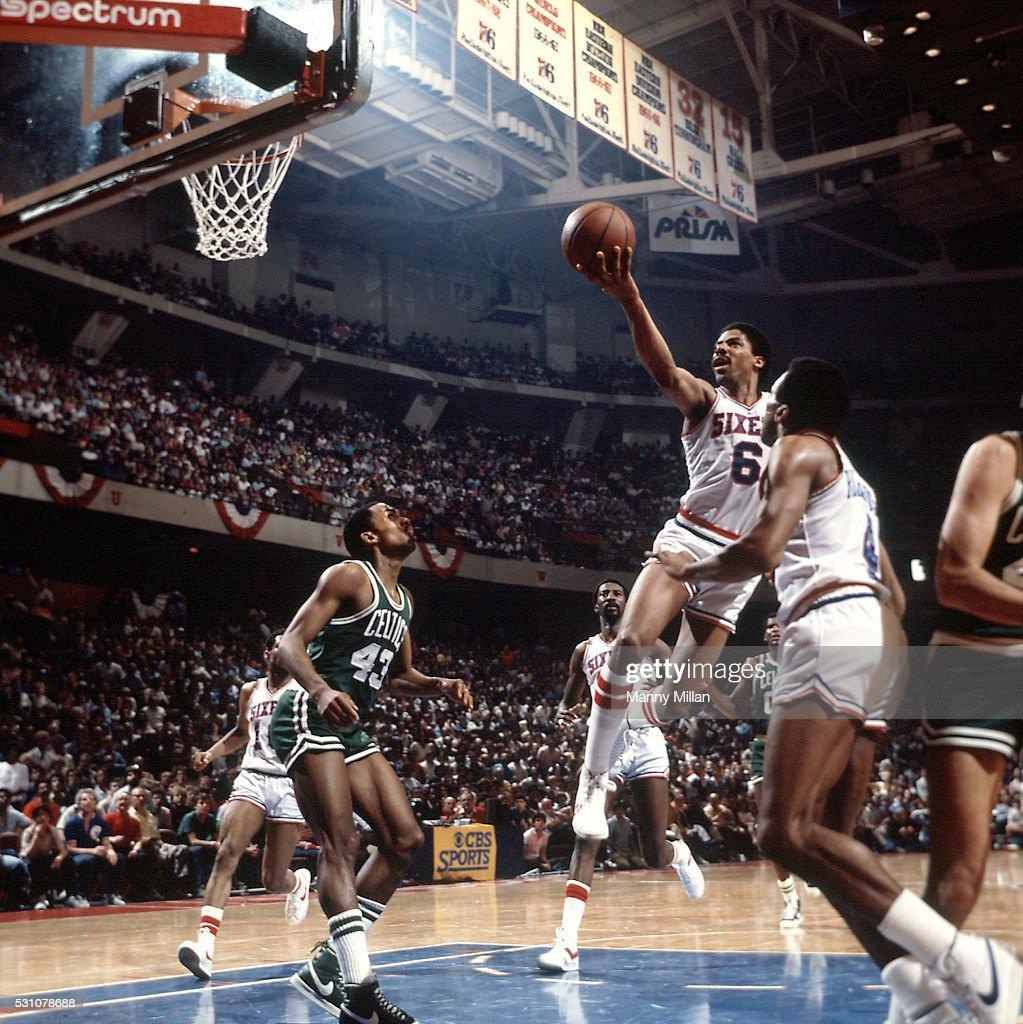 Philadelphia 76ers Vs Boston Celtics 1982 NBA Eastern Conference Finals News Photo