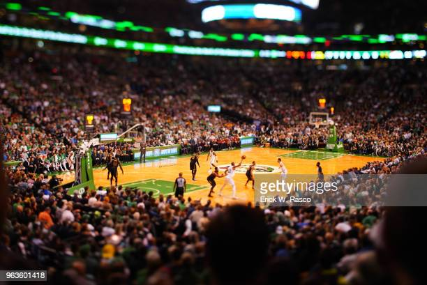 NBA Playoffs Rear view of Boston Celtics Al Horford in action vs Cleveland Cavaliers at TD Garden Game 7 Boston MA CREDIT Erick W Rasco