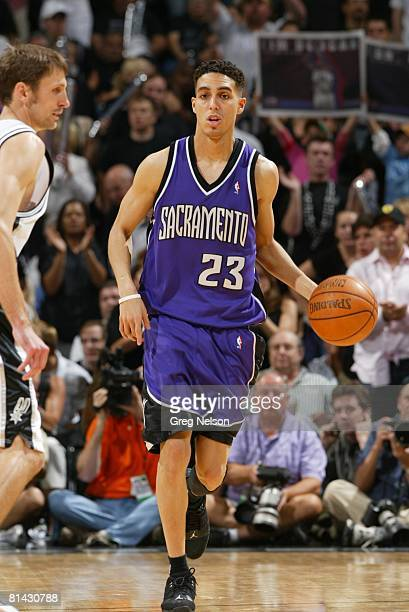 Basketball NBA Playoffs Sacramento Kings Kevin Martin in action vs San Antonio Spurs Game 5 San Antonio TX 5/2/2006