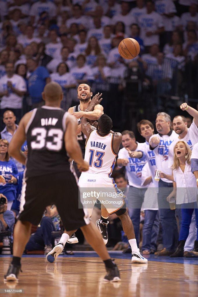 007d57c8d51b San Antonio Spurs v Oklahoma City Thunder - Game Four   News Photo