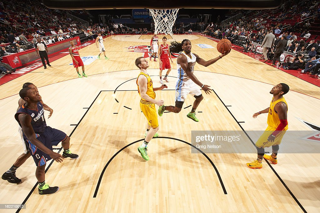 Denver Nuggets Kenneth Faried (35) in action during All-Star Weekend at Toyota Center. Greg Nelson F28 )