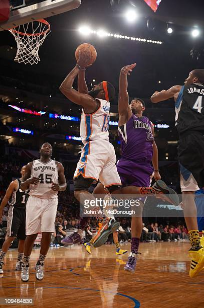 50a40dfe5e7f NBA Rookie Challenge Oklahoma City Thunder James Harden in action during  AllStar Friday Night of AllStar