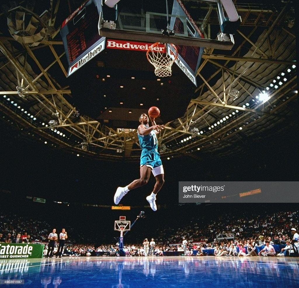 1991 NBA Slam Dunk Contest : News Photo