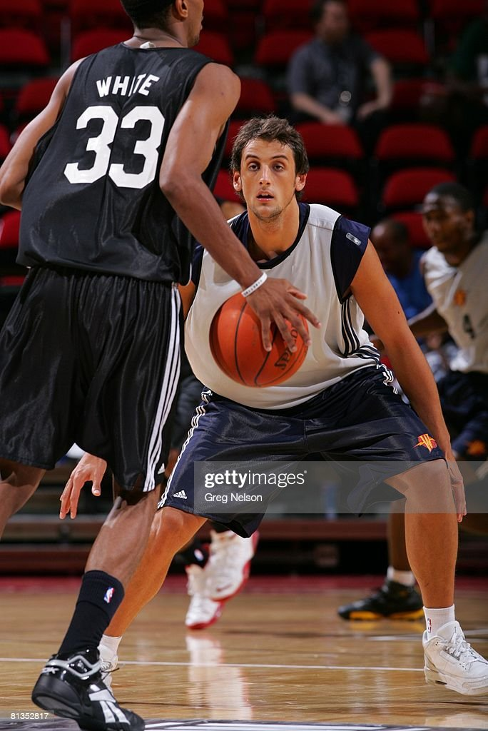 NBA Summer League, Golden State Warriors Marco Belinelli in action ...