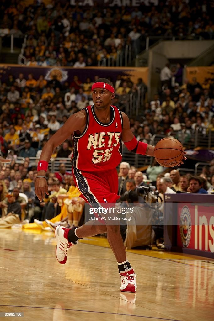 uk availability f0fa5 8b7e3 New Jersey Nets Keyon Dooling in action vs Los Angeles ...