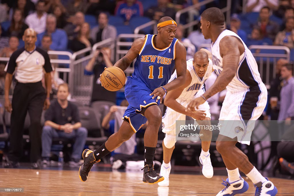 New York Knicks Ronnie Brewer (11) in action vs Orlando Magic at Amway Center. Greg Nelson F2 )