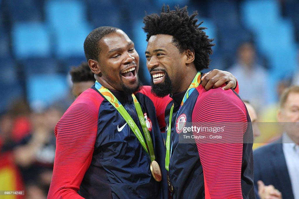 Basketball - Rio de Janeiro Olympics 2016 : News Photo