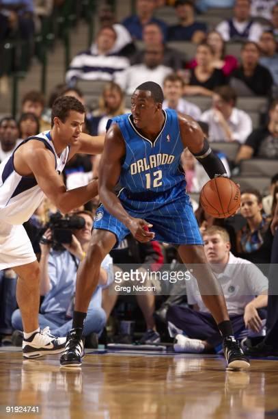 Orlando Magic Dwight Howard in action vs Dallas Mavericks during preseason game. Dallas, TX 10/5/2009 CREDIT: Greg Nelson