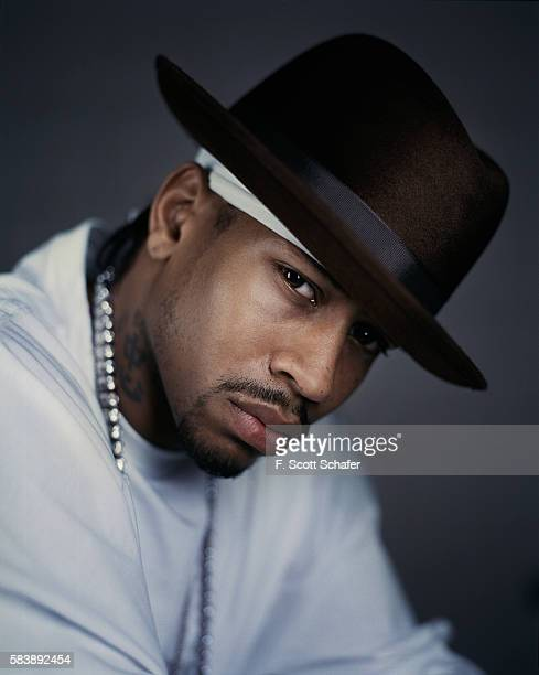 Basketball player Allen Iverson is photogrpahed for ESPN The Magazine in 2004 PUBLISHED IMAGE