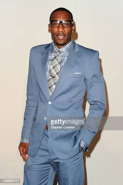 Basketball player Amare Stoudemire attends Fashion's Night Out The Show at Lincoln Center on September 7 2010 in New York City