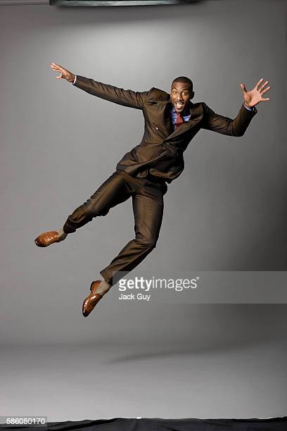 Basketball player Amar'e Stoudemire is photographed for Gotham Magazine on August 29 2011 in New York City