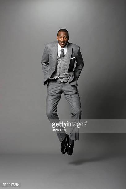 Basketball player Amar'e Stoudemire is photographed for Gotham Magazine on August 29 2011 in New York City PUBLISHED IMAGE