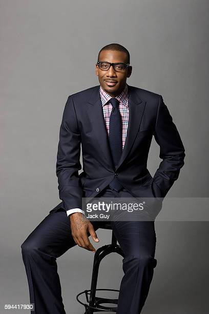 Basketball player Amar'e Stoudemire is photographed for Gotham Magazine on August 29, 2011 in New York City. PUBLISHED