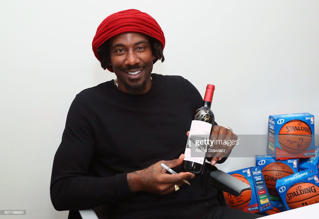 "Amar'e Stoudemire Hosts ""Stoudemire Wines"" Launch Reception With Jewish National Fund"