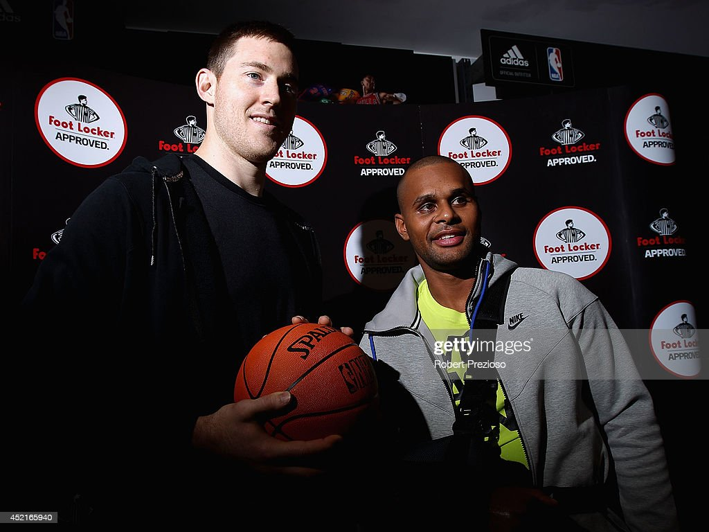 Patty Mills Foot Locker In Store Appearance : News Photo