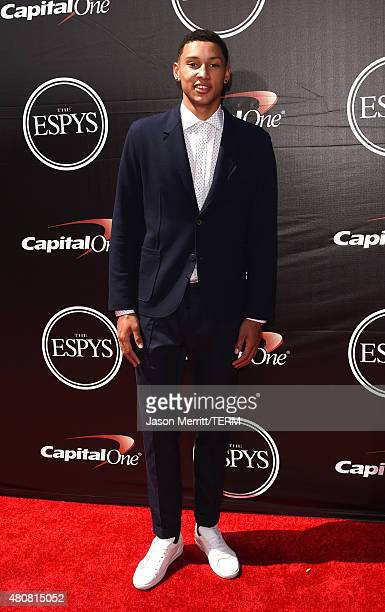 Basketball player Ben Simmons attends The 2015 ESPYS at Microsoft Theater on July 15 2015 in Los Angeles California